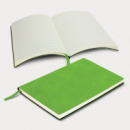 Genoa Soft Cover Notebook+Bright Green