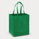 Mega Shopper Tote Bag+Kelly Green
