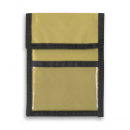 Nylon Wallet Badge and ID Holder+Khaki