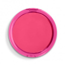 Dual Magnification Folding Mirror Round+Pink