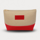 Allure Cosmetic Bag Red