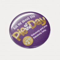 Button Badge Round (75mm) image