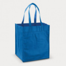 Mega Shopper Tote Bag+Royal Blue