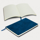 Genoa Soft Cover Notebook+Dark Blue