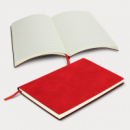 Genoa Soft Cover Notebook+Red
