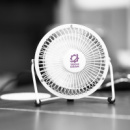 Nexion Desk Fan+in use
