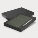 Demio Notebook and Pen Gift Set+Grey