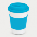 Aztec Coffee Cup+Light Blue