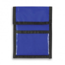 Nylon Wallet Badge and ID Holder+RoyalBlue
