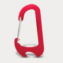 Everest Carabiner Bottle Opener+Red