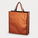Metallic Non Woven Shopper Copper
