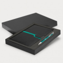 Andorra Notebook and Pen Gift Set+Teal