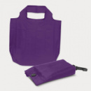 Atom Fold Away Bag+Purple