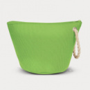 Cosmetic Bag with Rope Strap Lime Green