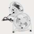 Nexion Desk Fan+White