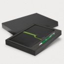 Andorra Notebook and Pen Gift Set+Bright Green
