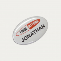 Button Badge Oval (65 x 45mm) image