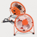 Nexion Desk Fan+Orange
