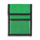 Nylon Wallet Badge and ID Holder+KellyGreen