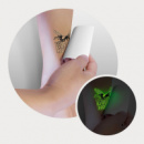 Temporary Tattoo Glow in the Dark 51mm 51mm+application