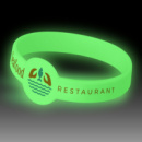 Xtra Silicone Wrist Band Glow in the Dark+glowing