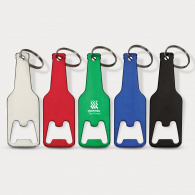 Bottle Shaped Opener Key Tag image
