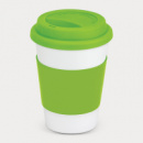 Aztec Coffee Cup+Bright Green