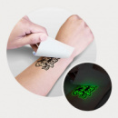 Temporary Tattoo Glow in the Dark 51mm 76mm+application