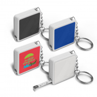 Square Tape Measure Key Ring image