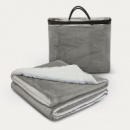 Oslo Luxury Blanket+Grey