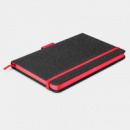 Meridian Notebook Two Tone+Red