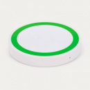 Orbit Wireless Charger White+Bright Green