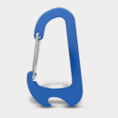 Everest Carabiner Bottle Opener+Blue