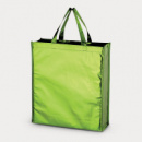 Metallic Non Woven Shopper Green