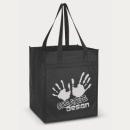 Mega Shopper Tote Bag+Black