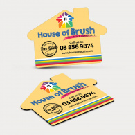 Fridge Magnet 70mm x 50mm (House Shape) image