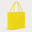 Monza Jute Tote Bag Colour Match+Yellow
