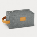 Heathered Toiletry Bag+Grey
