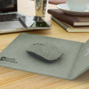 Greystone Wireless Charging Mouse Mat+in use
