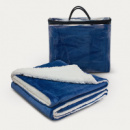 Oslo Luxury Blanket+Navy