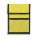 Nylon Wallet Badge and ID Holder+Yellow