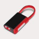 Carabiner Flashlight Combo Red