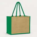 Torino Jute Shopping Bag+Green