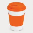 Aztec Coffee Cup+Orange