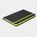 Meridian Notebook Two Tone+Bright Green