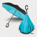 Gemini Inverted Umbrella+Light Blue