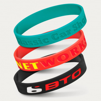 Silicone Wrist Band (Debossed)