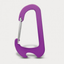 Everest Carabiner Bottle Opener+Purple