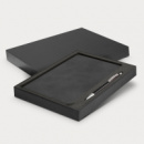 Demio Notebook and Pen Gift Set+Black