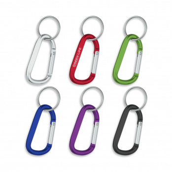 Carabiner (8mm) with Split Ring